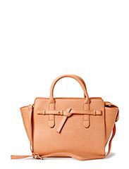 Knot Cross-body bag - Lt pastel brown