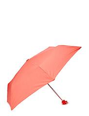 Polka-dot pouch umbrella - Lt-pastel orange