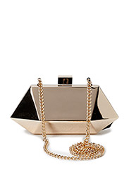 Geometric clutch - Gold