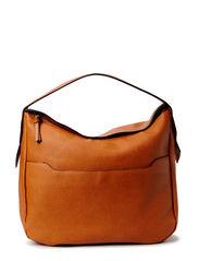 Top handle bag - Medium brown