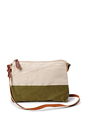 Jute cross-body bag - Medium beige