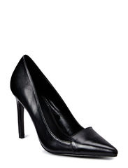Leather pumps - Black