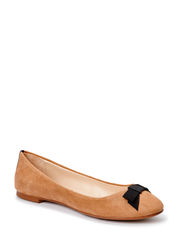 Bow ballerinas - Medium brown