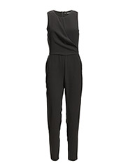 Flowy long jumpsuit - Black