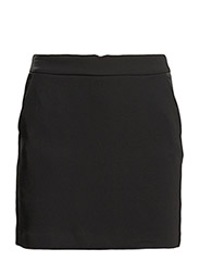 Cotton skirt - BLACK