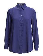 Flowy shirt - Medium blue