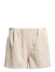 Faux leather shorts - LT-PASTEL PINK