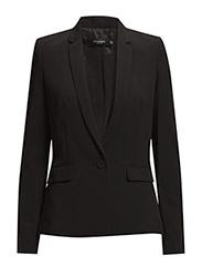 Essential cotton-blend blazer - BLACK