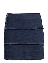 Decorative trim skirt - Navy