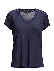 Soft fabric t-shirt - Dark blue