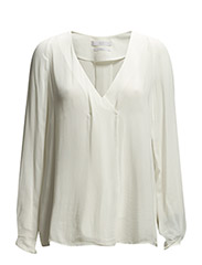 PREMIUM - Flowy blouse - NATURAL WHITE