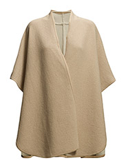 Waterfall poncho - Light beige