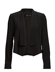 Flowy flaps jacket - BLACK