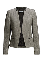 Jacquard blazer - NATURAL WHITE