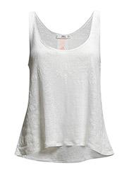 Linen t-shirt - Natural white