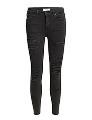 Cropped skinny Isa jeans - Open grey