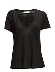 Patch pocket t-shirt - Black