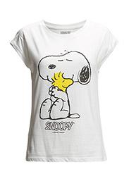 Printed cotton t-shirt - Natural white