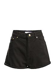 High waist shorts - Open grey
