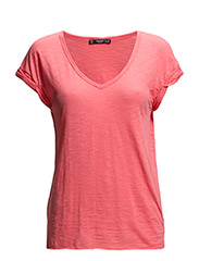 Cotton t-shirt - Bright red