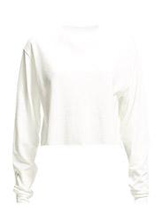 Cotton sweatshirt - Natural white