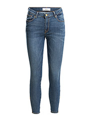 Skinny Cropped Tattoo jeans - OPEN BLUE