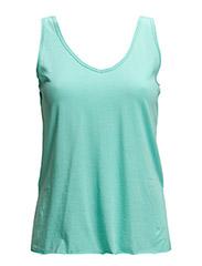 Strap cotton t-shirt - Green