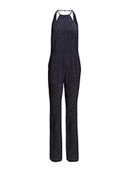 Halter neck jumpsuit - Navy