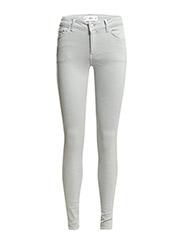 Skinny Melton jeans - OPEN GREY