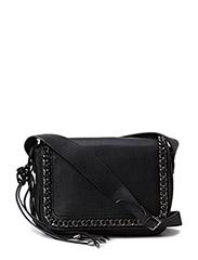 Chain cross body bag - Black