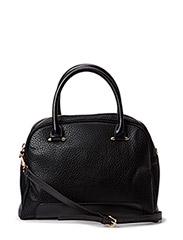 Pebbled tote bag - Black