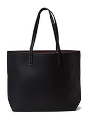 Reversible bicolor bag - Black