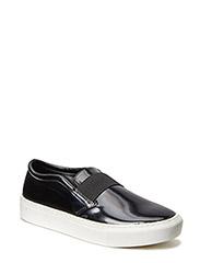 Elastic panel sneakers - Black