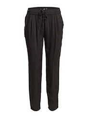 Textured baggy trousers - Black