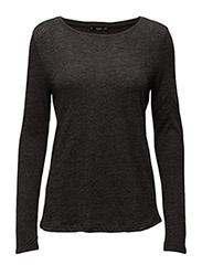 Mango - Flecked Cotton-Blend T-Shirt