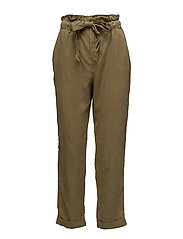Soft cord trousers - BEIGE - KHAKI