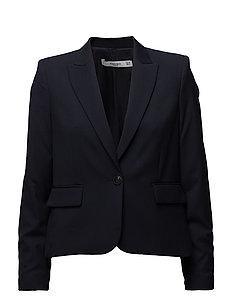 Patterned suit blazer - NAVY