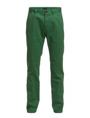 Chino, super slim fit, narrow leg, - foliage green