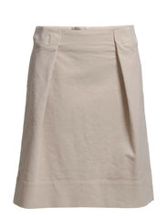 Skirt, knee length, modern pleat so - haze