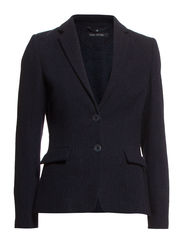 Blazer, 2 button CF, shaped fit, fl - night