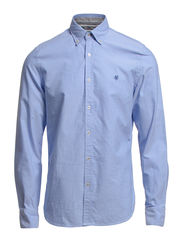 Shirt, long sleeve, button down col - skyway