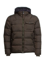 Jacket, down jacket - grape leaf