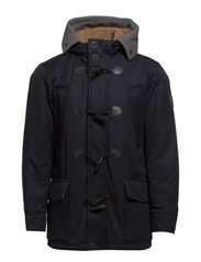 Jacket, winter toggle parka - deep ocean