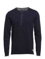 Serafino, long-sleeve - deep ocean