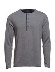 Serafino, long-sleeve - soft grey