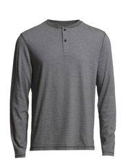 Serafino, long-sleeve, jaspé, strip - combo