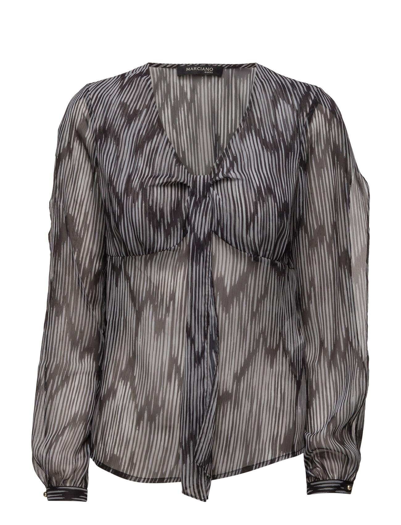 Shirt Optical Crinkle Marciano by GUESS Bluser til Kvinder i