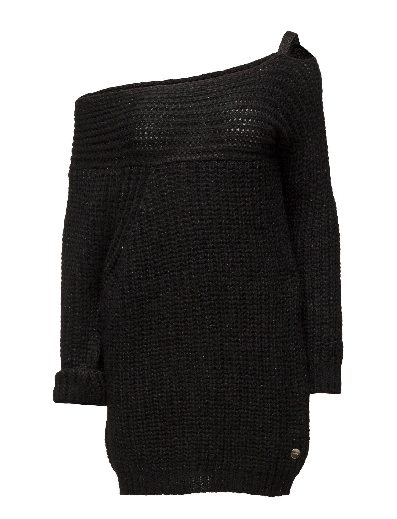 Sweater Boat Neck Ls Marciano by GUESS Sweatshirts til Kvinder i Noir