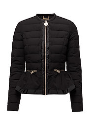 FRILL JACKET - JET BLACK