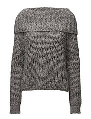 LS TN NINA SWEATER - NEW SILVER STONE